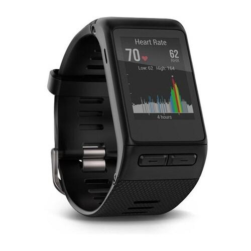 Refurbished Refurbished Garmin Vivoactive HR Black Smartwatch XL- Part no: 010-N1605-01
