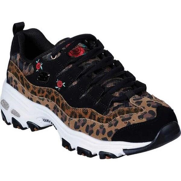 Shop Skechers Women's D'Lites Leopard Rose Sneaker Leopard