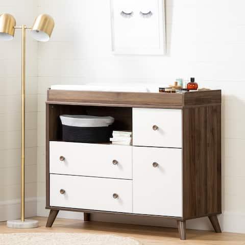 South Shore Yodi 4-drawer Storage Changing Table