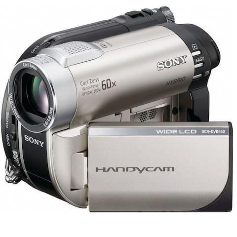 Sony DCR-DVD650E DVD PAL Camcorder