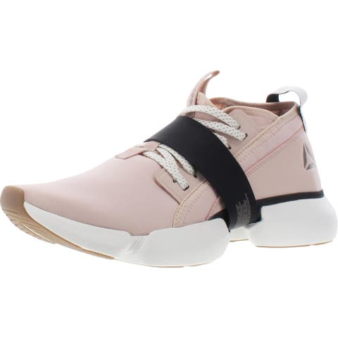 Reebok Womens Split Flex Sneakers Fitness Workout - Buff/Black/Chalk