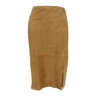 Calvin Klein Women 39 S Dark Khaki Pencil Skirt Free Shipping On Orders Over 45