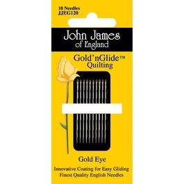 Gold'n Glide Quilting Needles -Size 11 10/Pkg