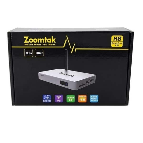 Shop Zoomtak H8 Fully Loaded Entertainment 4K Android Tv Box