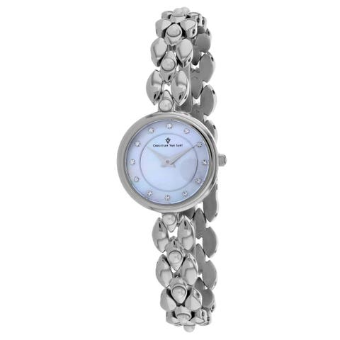Christian Van Sant Women's Perla Mother of Pearl Dial Watch - CV0610 - One Size