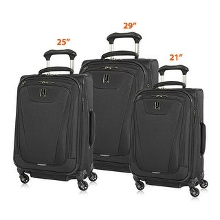 "TravelproMaxlite 4-Black 21""/25""/29"" Expandable Spinners w/ Water Repellent Coating - 3 Piece Set"