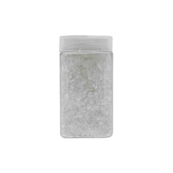 Darice Floral Gems Glass Chips 17.5oz Clear