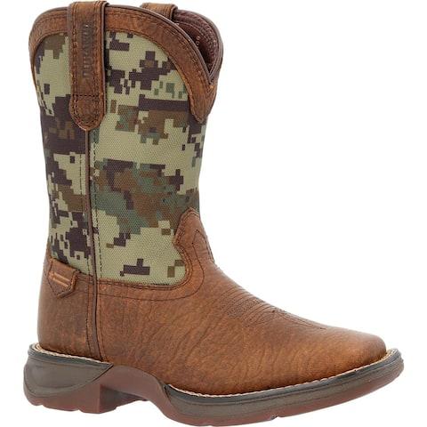 Lil' Rebel by Durango® - Big Kids' Digi Camo Western Boots
