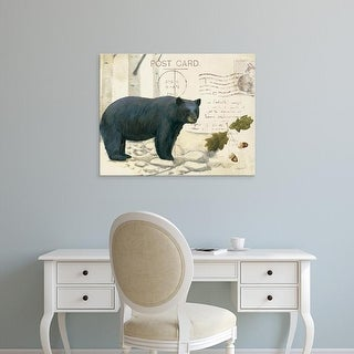 Easy Art Prints James Wiens's 'Northern WIld IV' Premium Canvas Art
