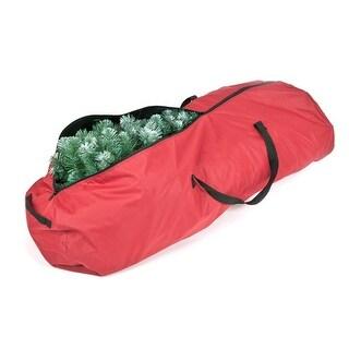 Santa's Bags SB-10205 Rolling Christmas Tree Storage Bag, Red