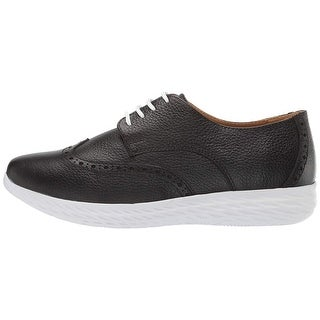 Link to Driver Club USA Womens Leather Raleigh Extralight Wingtip Sneaker Loafer Similar Items in Golf Shoes