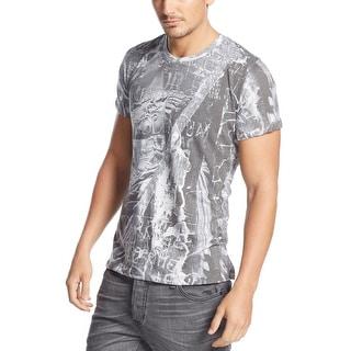 Rogue State Lightweight Graphic Crweneck T-Shirt Grey XX-Large