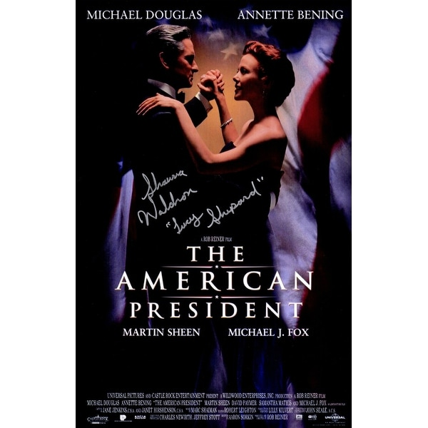 shop shawna waldron the american president 11x17 movie poster wlucy