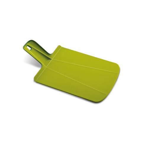 Joseph Joseph Chop2Pot Plus Foldable Plastic Cutting Board & Kitchen Prep Mat, Small, Green
