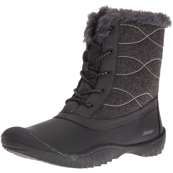 Jambu Womens Autumn Closed Toe Ankle Cold Weather Boots