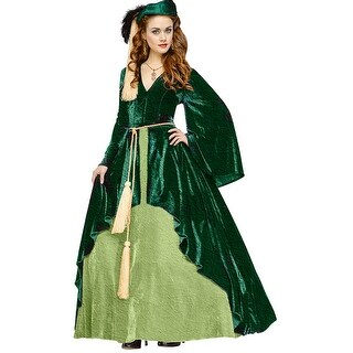 Womens Scarlett O'Hara Drapery Gown Costume (2 options available)