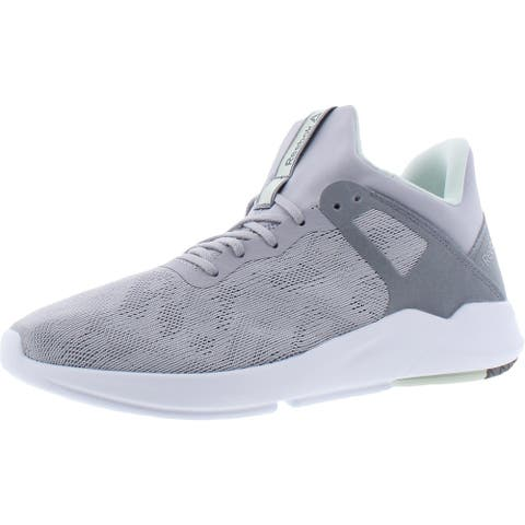 Reebok Womens Gazura Sneakers Gym Workout - Cold Grey 2/Cold Grey 4/Emerald Ice
