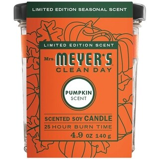 Mrs. Meyer's Clean Day 11187 Soy Candle, Ivory