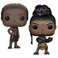 Funko Pop! Marvel Black Panther Shuri and Nakia Action Figures Toys (2 Items)