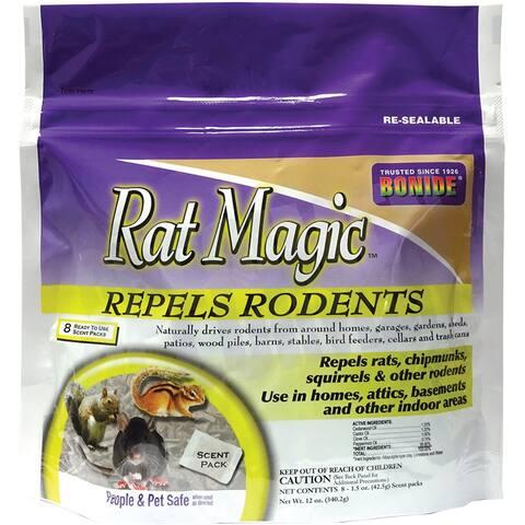 Bonide 8636 Rat Magic RTU Scent Pack, 12 Oz