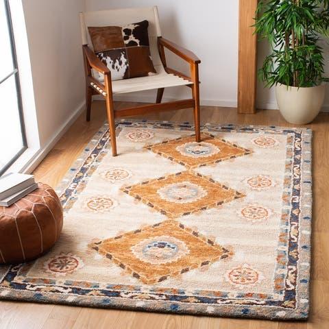 SAFAVIEH Handmade Aspen Zoea Moroccan Boho Wool Rug
