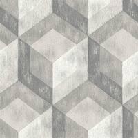 Brewster NU2085 30-3/4 Square Foot - Bauhaus Weathered Wood - Prepasted Vinyl Wallpaper - n/a - N/A