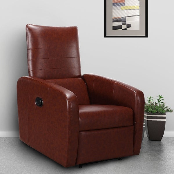 Shop Costway Manual Recliner Chair Contemporary Foldable