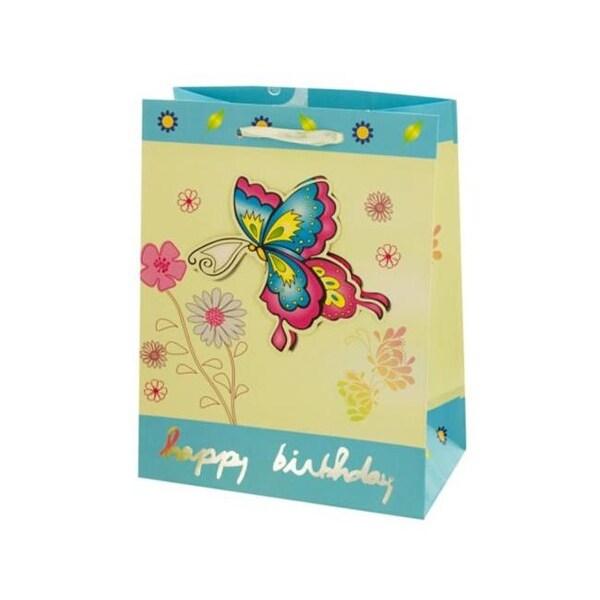 Shop Kole Imports 7 X 9 In Small Happy Birthday Giftbag 48 Piece