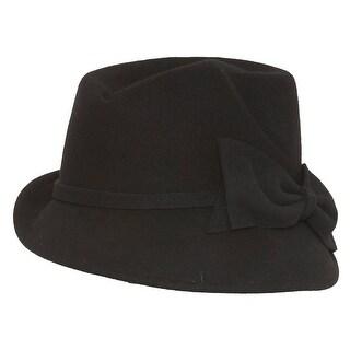 Ladies Vintage Fashion Cloche Hat w Bow