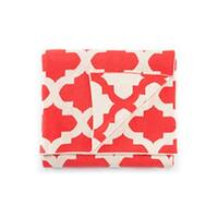 """Red/Ivory Cotton Throw - TRI11 50""""x60"""" - Red"""