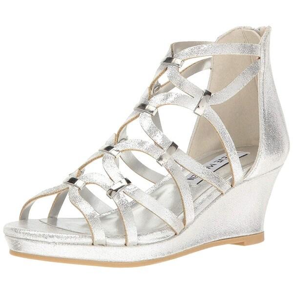 Shop Steve Madden Kids  Jcastle Wedge Sandal - On Sale - Free ... 5a9a13f72e88