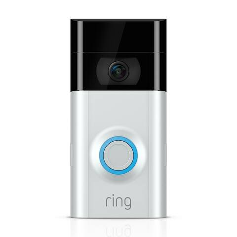 Ring Certified Refurbished Video Doorbell 2 - Silver