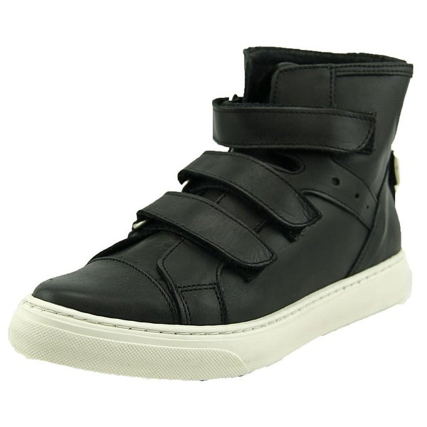 J/Slides 46731   Round Toe Leather  Sneakers