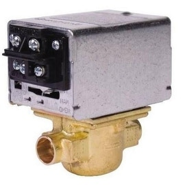 Honeywell V8043F1036 Motorized Zone Valve With Terminal Board Connector, 24 Volt