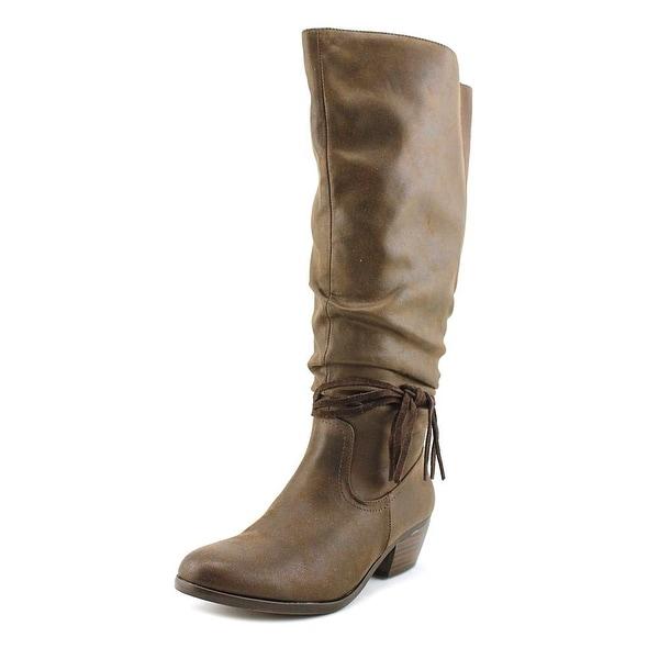 Kim Rogers Perri Wide Calf Women Dark Brown Boots