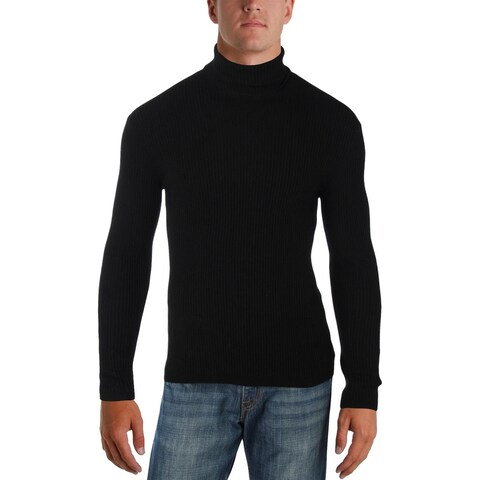 Theory Mens Turtleneck Sweater Cashmere Ribbed - M