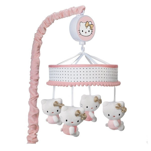 Shop Lambs Amp Ivy Hello Kitty Pink Gold White Musical Baby