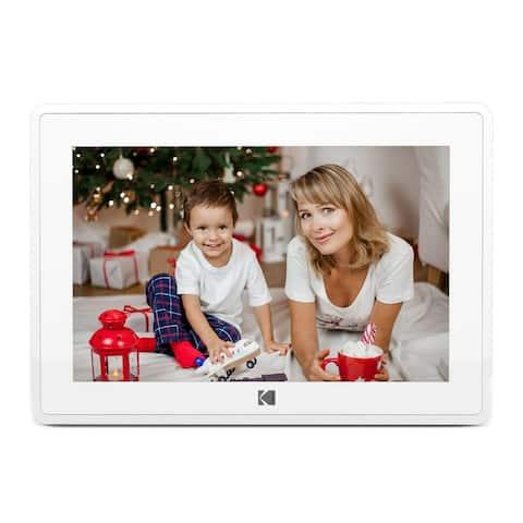 Kodak 10-Inch Touch Screen Wi-Fi Digital Picture Frame (White)