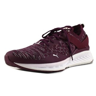 9e01f5ef396 Shop Puma Ignite EvoKnit Lo Women Round Toe Synthetic Purple Sneakers - Free  Shipping Today - Overstock - 18802571