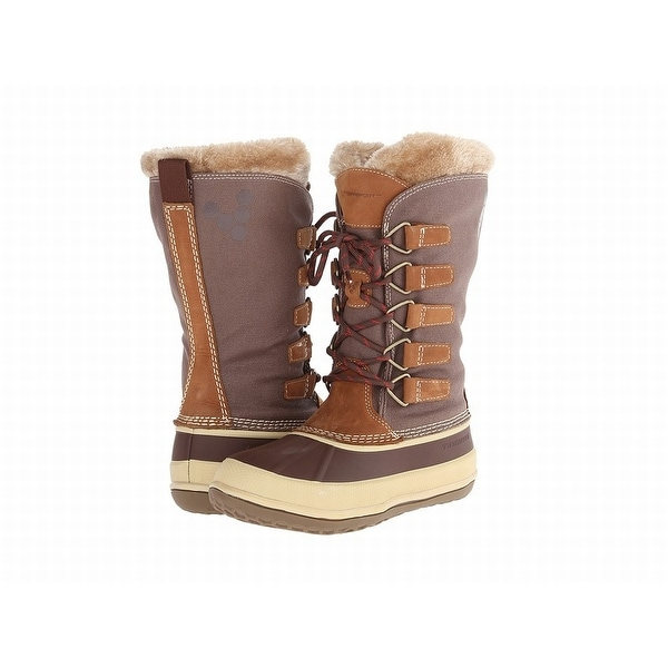 Vivobarefoot NEW Brown Shoes Size 5M Snow Winter Leather Boots