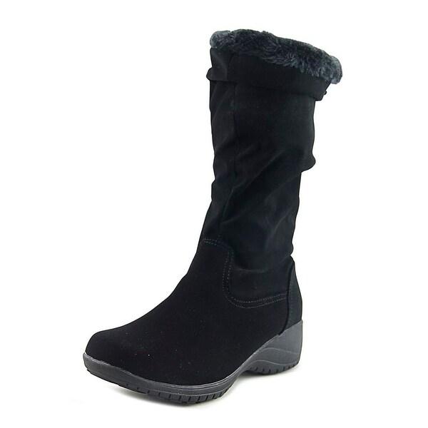Khombu Adventura Black Snow Boots