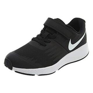Nike Boy's Star Runner (Psv) Running Shoes (Black/White/Volt)