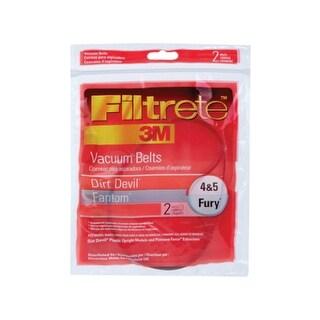 Filtrete 65045-12 Vacuum Cleaner Belt, Dirt Devil Style