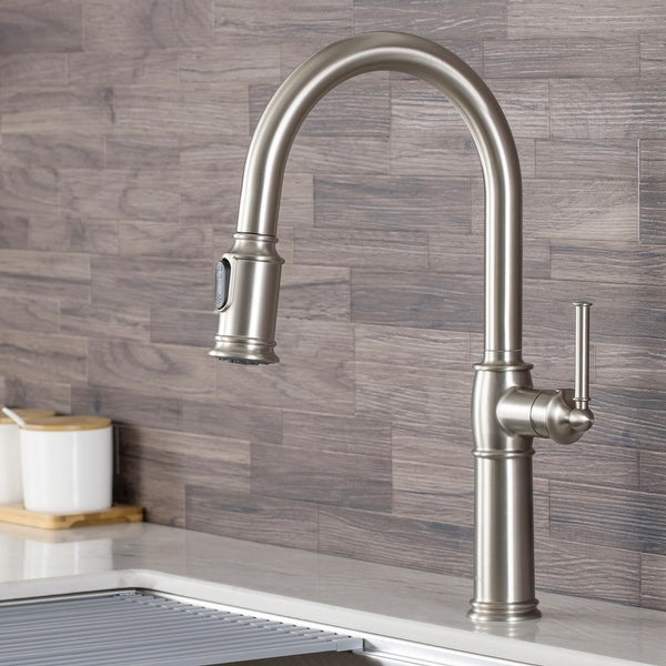 Kraus KPF-1682 Sellette Traditional 1-Handle Pull-Down Kitchen Faucet
