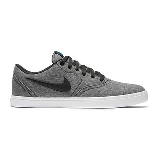 Nike SB Check Solarsoft Canvas-7.5 D(M) US - black black white photo blue