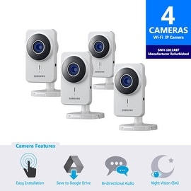 4-Pack SNH-1011REF - Samsung SmartCam IP Camera (Manufacturer Refurbished)