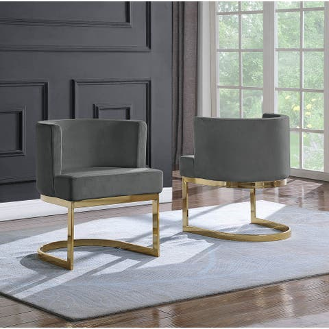 Best Quality Furniture Leisure Chair with Gold Base (Single)