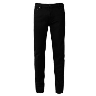 NE PEOPLE Mens Basic Casual Solid Color Skinny Fit Jeans Waist: 32""