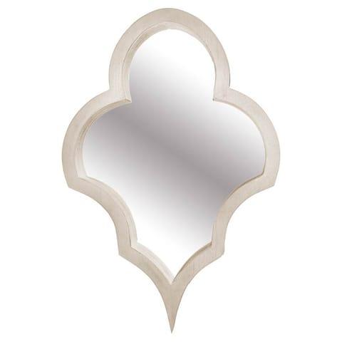 Mercana Geneva I Wooden Framed Wall Mirror - A