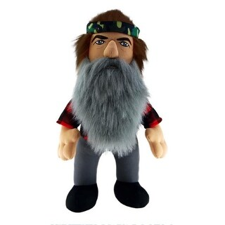 """Duck Dynasty 13"""" Plush With Sound Phil - multi"""